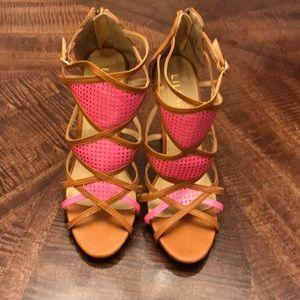 Liliana Ankle Strap Heels size 9